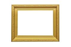 Goldener Bilderrahmen lizenzfreie stockfotografie