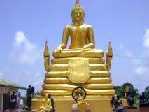 Goldener Buddha Stockfoto