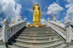 Goldener Buddha 2 Lizenzfreies Stockbild