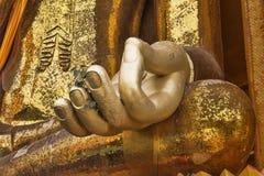 Goldener Buddha stockbild