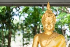 Goldener Buddha im Tempel Stockfotos