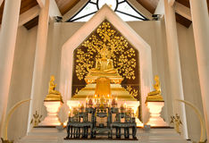 Goldener Buddha in Thailand Stockfoto