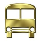 Goldener Bus Stockbilder
