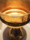 Goldener Chalice Stockbilder