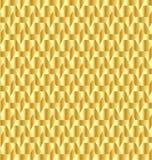 Goldener dekorativer Hintergrundvektor Lizenzfreie Stockfotos