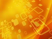 Goldener digitaler Hintergrund lizenzfreie abbildung