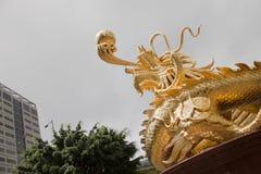 Goldener Drache Lizenzfreie Stockfotografie