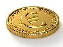 Goldener Euro Lizenzfreie Stockbilder