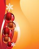 Goldener Feiertagshintergrund Stockbilder