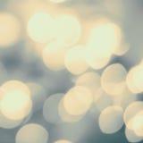 Goldener festlicher unscharfer Hintergrund Zusammenfassung funkelte helle Rückseite Stockfotos