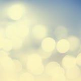 Goldener festlicher unscharfer Hintergrund Zusammenfassung funkelte helle Rückseite Lizenzfreie Stockbilder