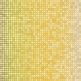 Goldener funkelnder Hintergrund Stockfotos