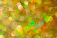 Goldener Funkelnhintergrund Lizenzfreies Stockbild
