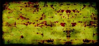 Goldener getonter rostiger Hintergrund der Grunge Weinlese - hallo Stockfoto