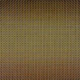 Goldener Gitterhintergrund stockbilder