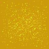 Goldener gl?nzender Hintergrund Goldpaillettehintergrund Der goldene Schein auf der Grenze der Liebesform lizenzfreie abbildung