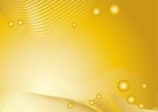 Goldener grafischer Hintergrund lizenzfreie abbildung