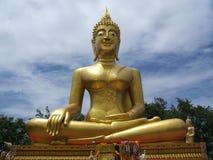 Goldener großer Buddha Lizenzfreie Stockfotografie
