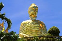 Goldener großer Buddha Stockfotos