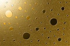 Goldener grungy Hintergrund Lizenzfreies Stockfoto