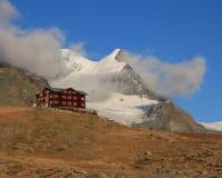 Goldener Herbsttag in Zermatt Lizenzfreie Stockfotos