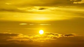 Goldener Himmel Lizenzfreies Stockfoto
