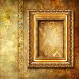 Goldener Hintergrund Lizenzfreie Stockbilder