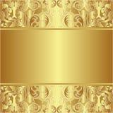 Goldener Hintergrund Stockfotos
