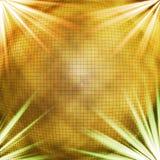 Goldener Hintergrund Stockbild