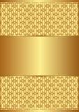 Goldener Hintergrund Lizenzfreies Stockfoto
