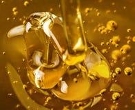 Goldener Honig Stockbild