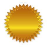 Goldener Kennsatz lizenzfreie abbildung