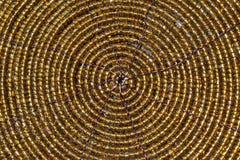Goldener Kreis Stockfotografie