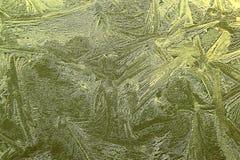 Goldener Kristall stockbilder
