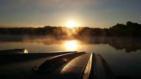 Goldener Morgen Stockbild