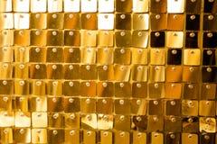 Goldener Mosaikinnenraum lizenzfreie stockfotografie