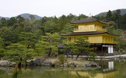 Goldener Palast Stockbild