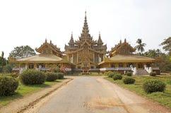 Goldener Palast Bago Stockfotos