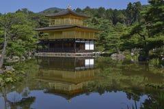 Goldener Pavillion Kinkaku-ji lizenzfreies stockbild