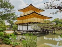 Goldener Pavillion, Kyoto Stockbilder