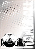 Goldener Plakathintergrund 2 des Handballs vektor abbildung