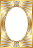 Goldener Rahmen Stockbild