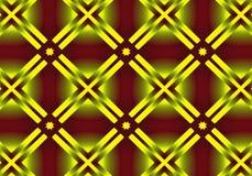 Goldener Rahmen des Hintergrundes lizenzfreie abbildung