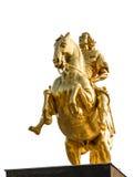 Goldener Reiter 免版税库存图片