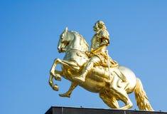 Goldener Reiter Stock Images