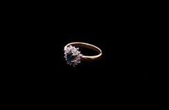Goldener Ring Stockfotografie