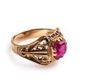 Goldener Ring Stockfotos