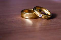 Goldener Ring lizenzfreie stockbilder