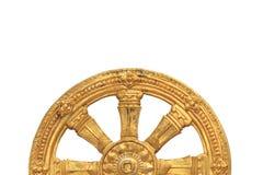 Goldener Rowel Stockfoto