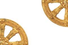 Goldener Rowel Lizenzfreie Stockfotos